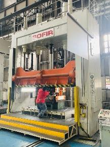 Prensa Ajuste Sofir AGR70 -700 Kn