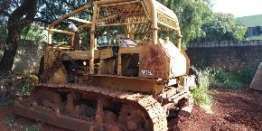 Trator de Esteira Fiatallis Ad14 1986