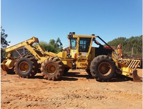 Skidder Tiger Cat 615C 2014