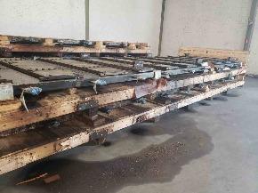 Sucata de Chapas de Aço Perfuradas - Aprox. 20 Ton.