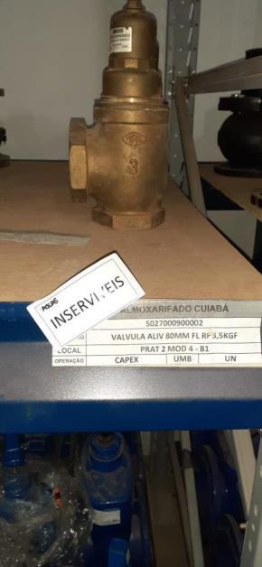 Válvula de Alívio (3,5 kg/f)