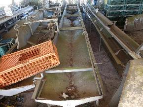 Estruturas de Esteiras de Aço Inox