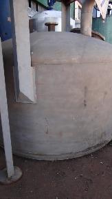 """Tanque em Aço Inox 304 Vol. 5000 litros Chapa 1/4"""" 2001"""