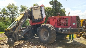 Harvester Valmet 941 Ano 2009 - Com  Cabeçote 370e Komatsu