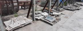 Decisório Aço Manganês Aprox. 15 ton
