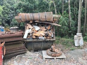 Sucata Aço Comum Barueri SP Aprox. 10 ton a gerar em 12 meses