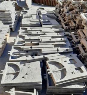 Sucata de Aço Refratário Aprox. 5 Ton
