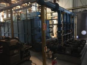Sistema Centralizado de Pré-separação Magnética e Filtração a Vácuo tipo MKUF 2006