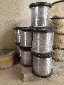 Arame em aço inox 316L - Bitola 0,45mm