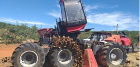 Sucata de Máquina e Peças de Harvester Florestal