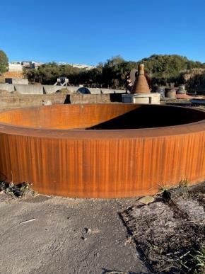 Sucata de Aço Comum Graúda Aprox. 117 Ton Pontual - Rio Branco do Sul PR.