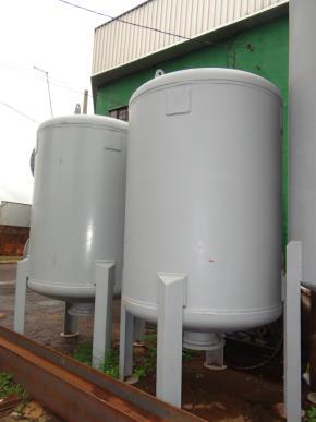 Vaso de Pressão em Aço Carbono para Uso Como Filtro de Água Diâmetro 1500 mm