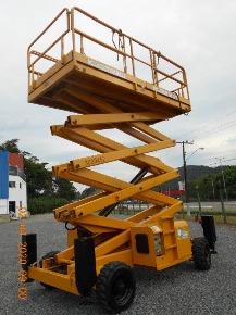 Plataforma Tesoura Diesel 2012 HA15SX Haulotte - AFI 3000452
