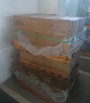 Sucata de Tijolos e Argamassas Vencidos Aprox. 30 ton.